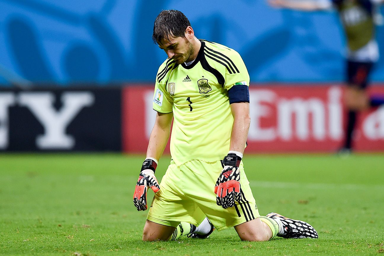 Iker Casillas could use some rest after a horrific performance vs. the Dutch.