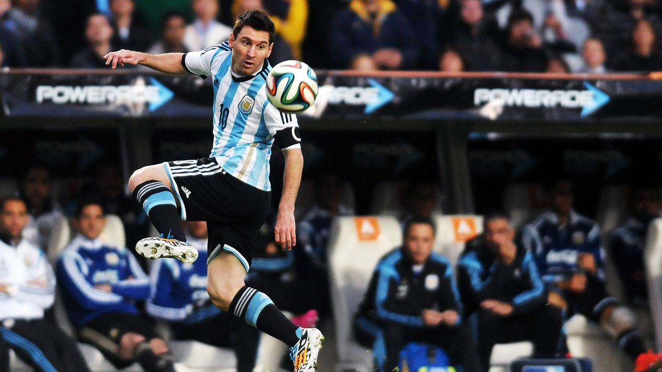 Lionel Messi and Argentina open their World Cup competition Sunday against Bosnia-Herzegovina.