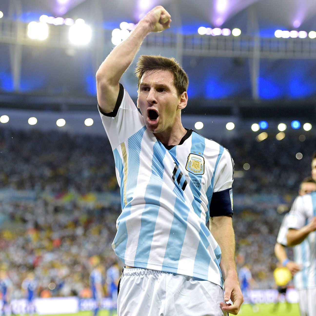 Lionel Messi deservedly released some pent-up emotion after his goal. Are there more to come?