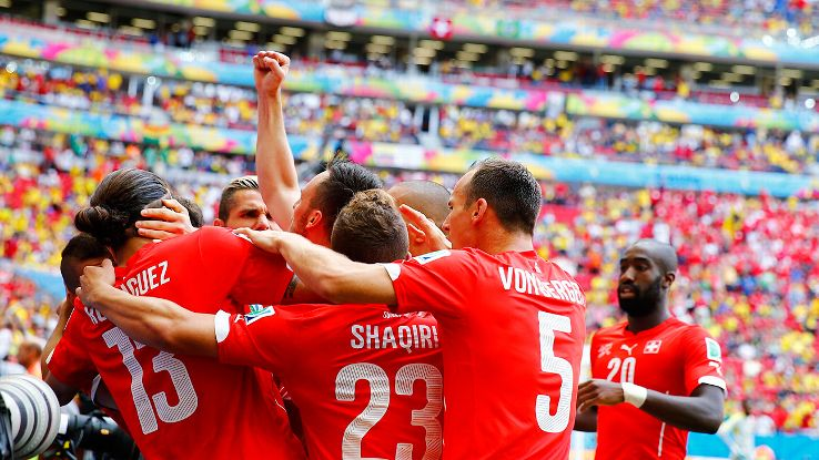 Switzerland left it late but picked up a big three points on Sunday versus Ecuador.