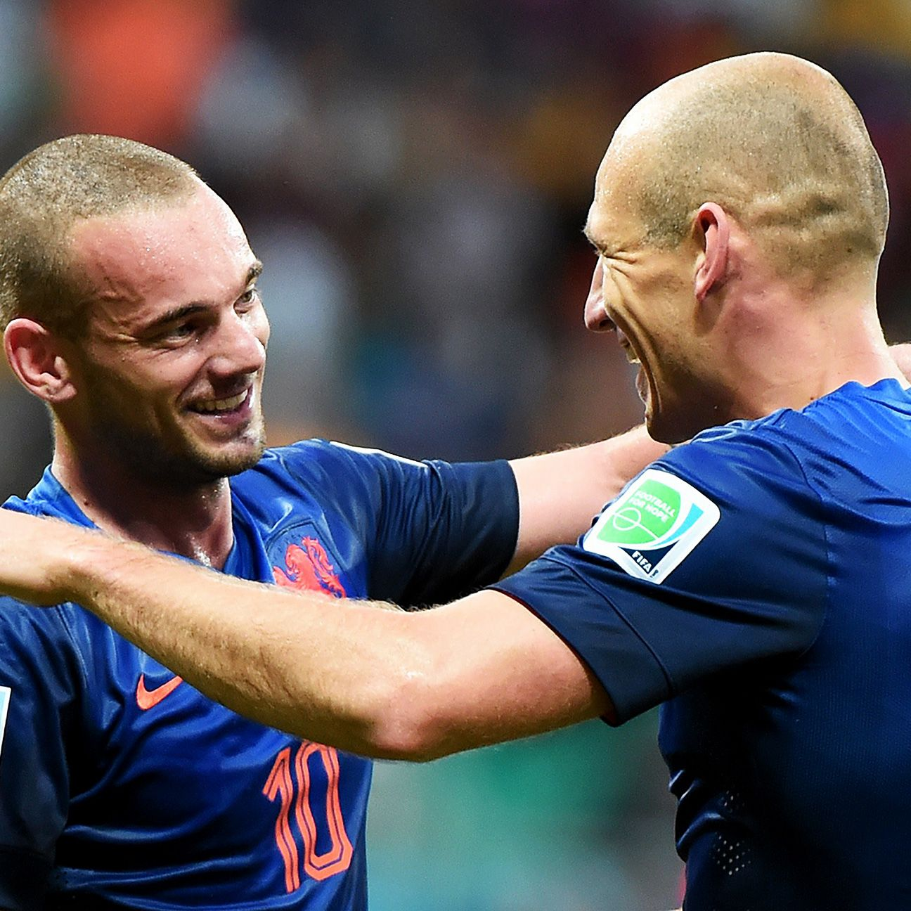 Wesley Sneijder and Arjen Robben were present for the pain of the 2010 final, making Friday's victory all the sweeter.