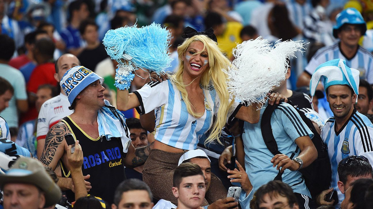 Maracana felt like home for Argentina's national team in their World Cup opener against Bosnia-Herzegovina.
