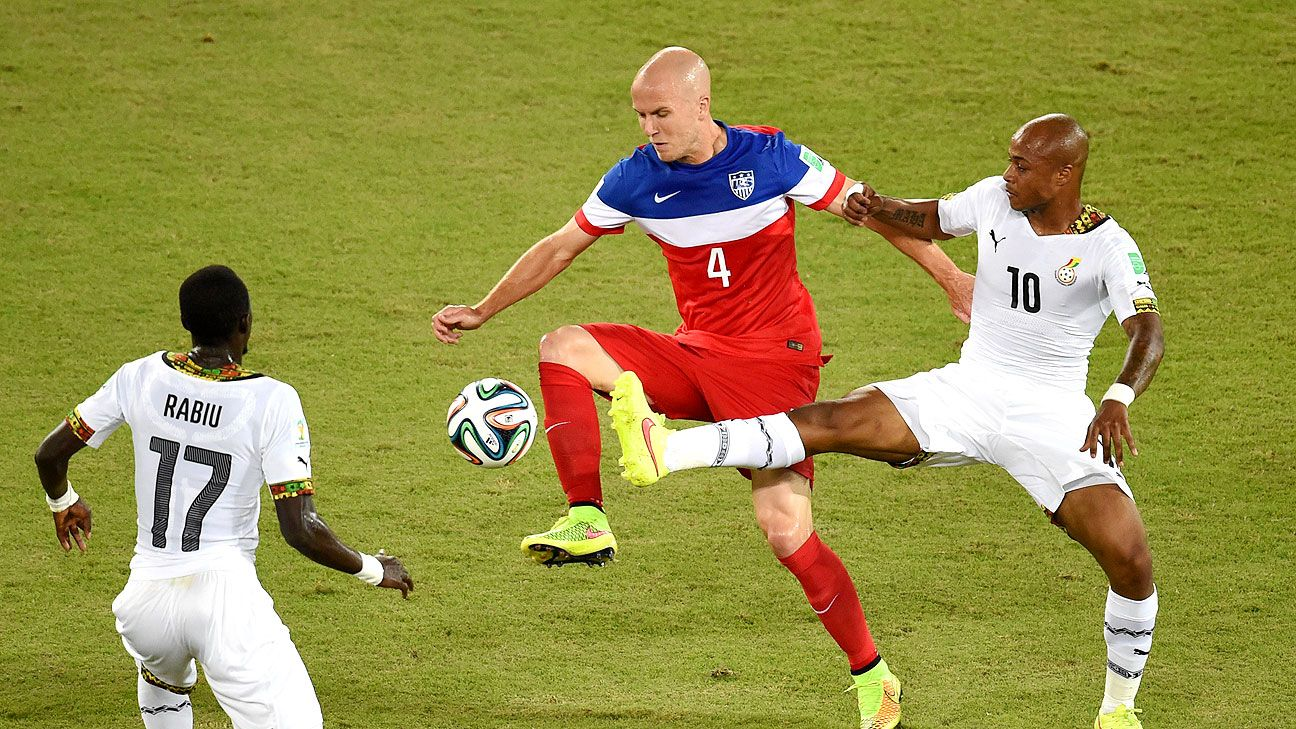 Michael Bradley will need to improve if the U.S. is to get a result against Portugal.