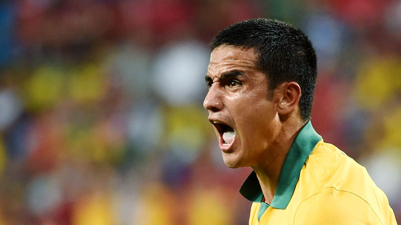 It's going to be a big loss for the Socceroos when Tim Cahill moves on.