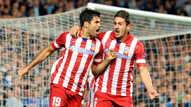 Diego Costa and Koke developed a strong partnership at Atletico Madrid.