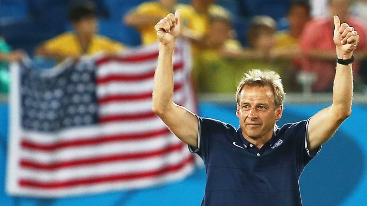 Jurgen Klinsmann's decision to hang the entire World Cup on beating Ghana paid off. Now the real work begins.