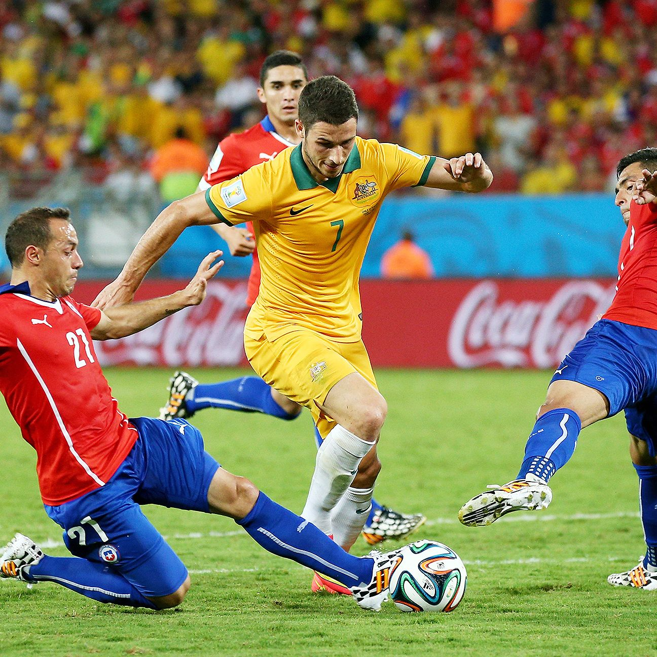 Mathew Leckie showed the kind of spirit vs. Chile that could make him a possible Cahill replacement.