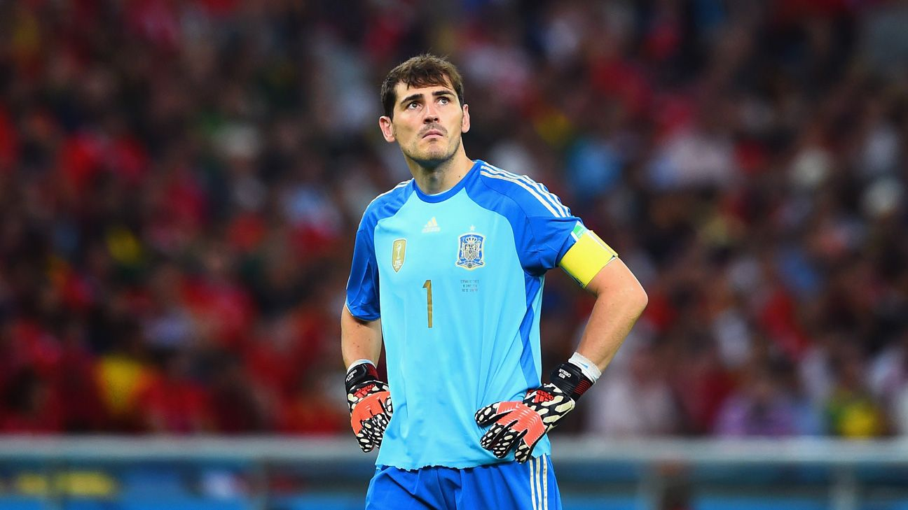 Iker Casillas faces an uncertain future for both Spain and Real Madrid.
