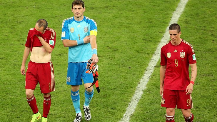 Andres Iniesta, Iker Casillas and Fernando Torres contributed to Spain's six-year reign.