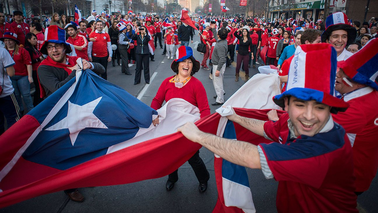 Fans will no doubt be glued to Chile's next match Monday vs. Netherlands, as the winner will top Group B.
