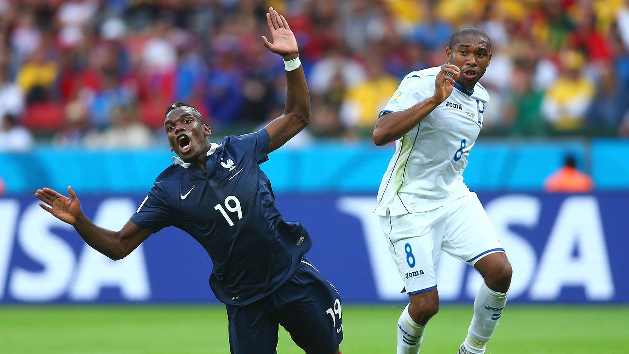 That Pogba rose above the constant fouling to be decisive vs. Honduras shows his progress.