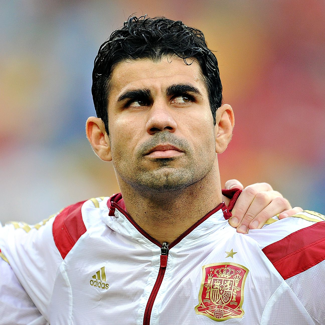 Diego Costa was on the receiving end of jeers from Brazilian crowds.