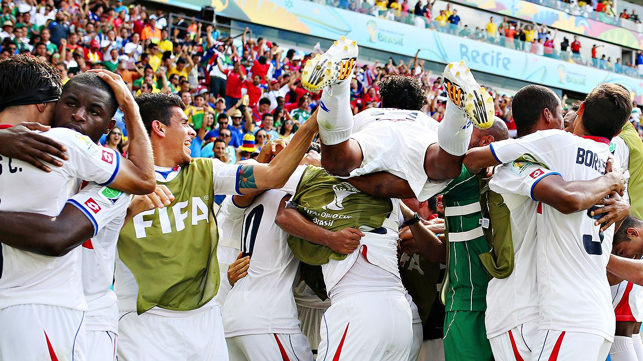 Costa Rica earned and fully deserved their victory over fancied Italy on Friday.