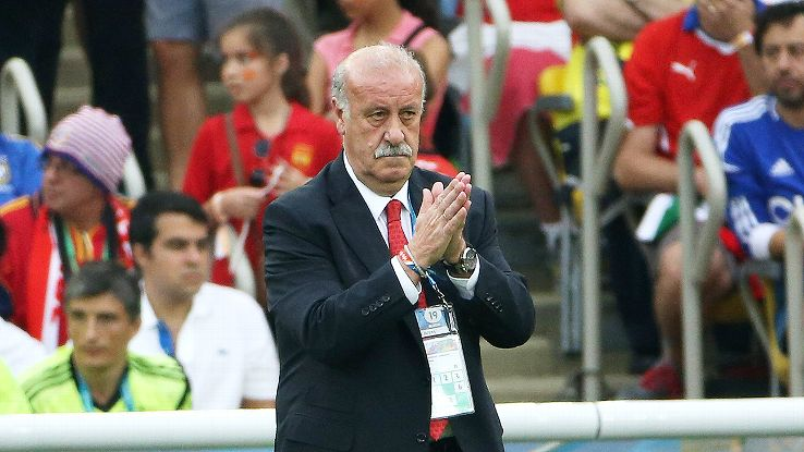 It is unknown if Vicente del Bosque will stay on as Spain head coach.
