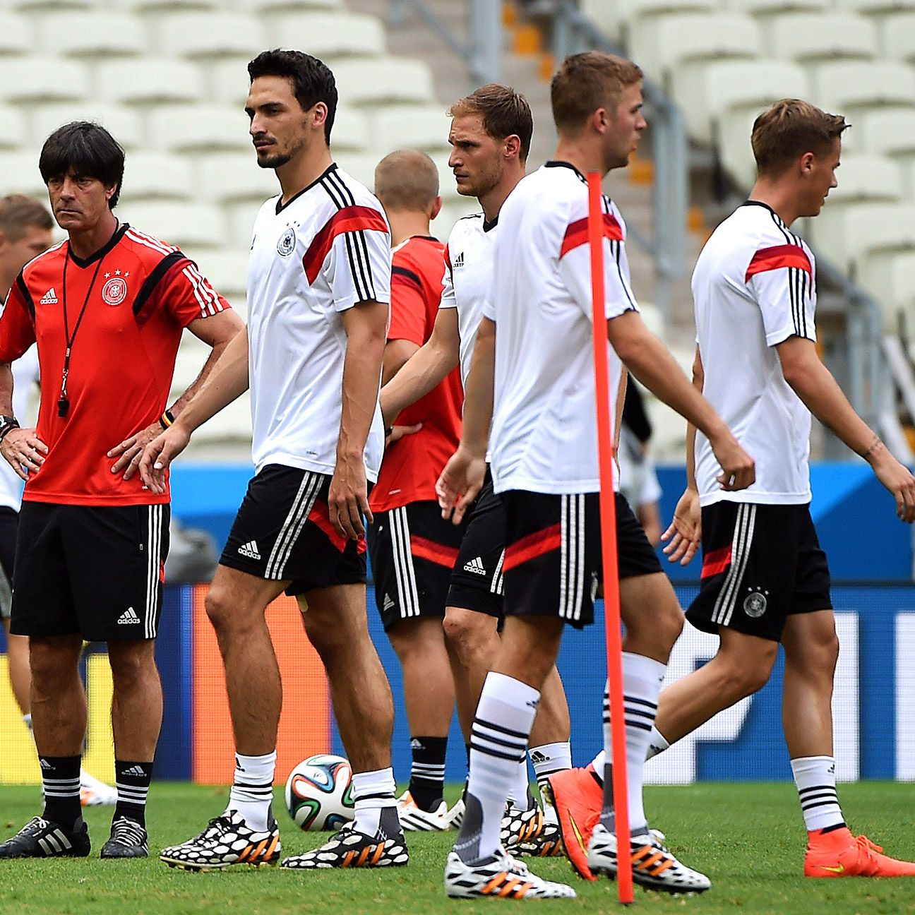 Joachim Loew's side are comfortable in Brazil but facing Ghana is pulling them out into the unknown.
