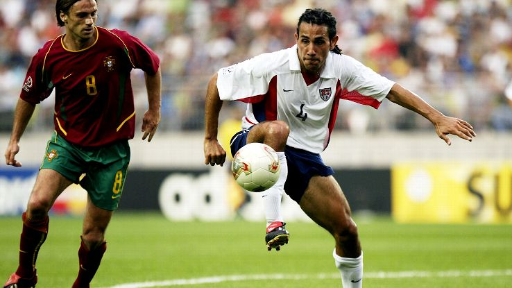 Reserve midfielder Pablo Mastroeni came in vs. Portugal and helped anchor the U.S. win.