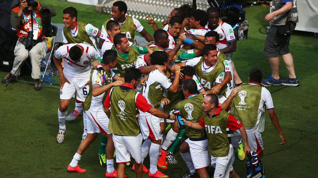 Costa Rica's success has been one of the biggest surprises of the tournament.