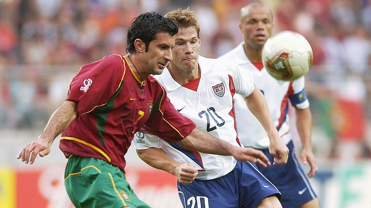 Portugal's 2002 World Cup squad included reigning FIFA Player of the Year Luis Figo.
