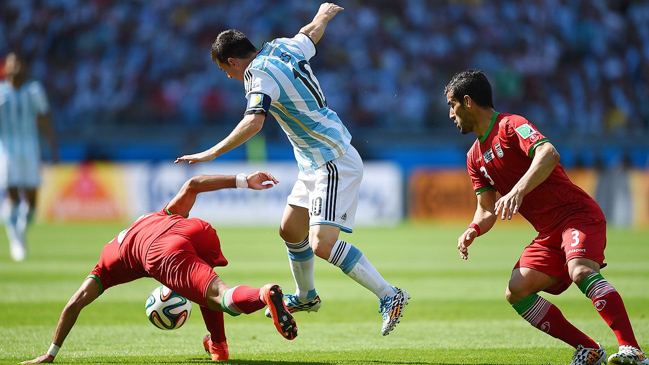 It was a laboured effort, but Lionel Messi and Argentina overcame Iran to advance to the second round.