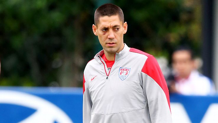 Clint Dempsey told ESPN's Jeremy Schaap that he 'probably won't' wear a mask in Sunday's match against Portugal.