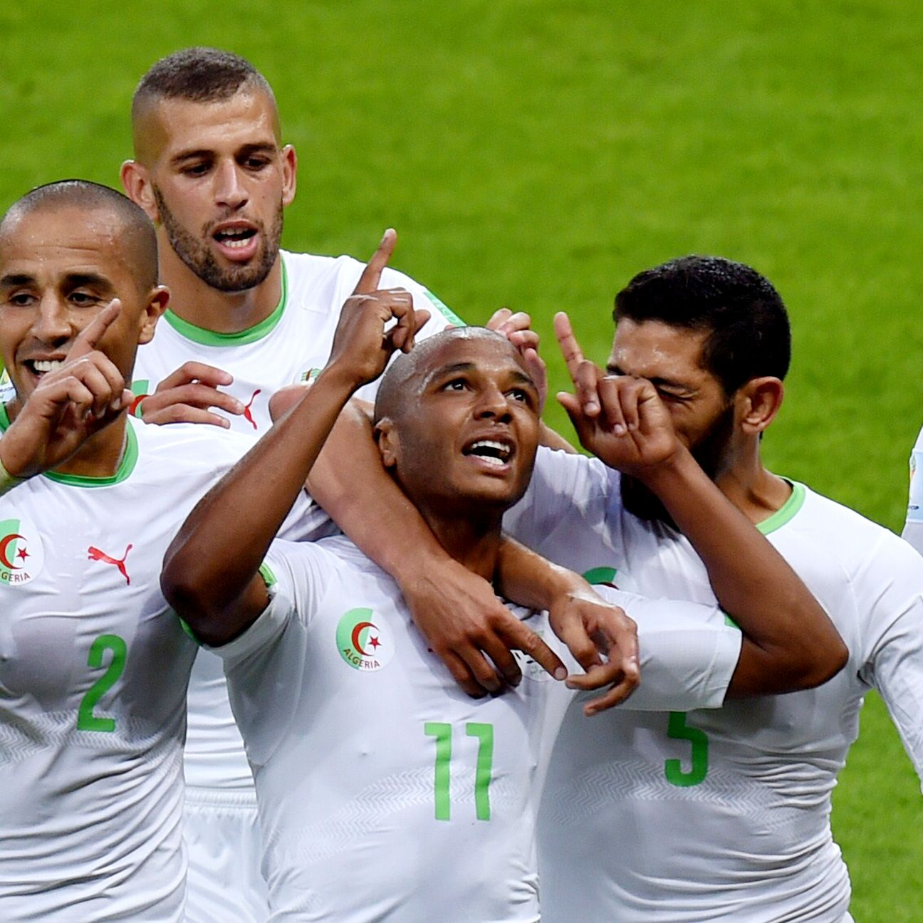 Yacine Brahimi and Algeria will be out to carry their World Cup form into the African Nations' Cup.