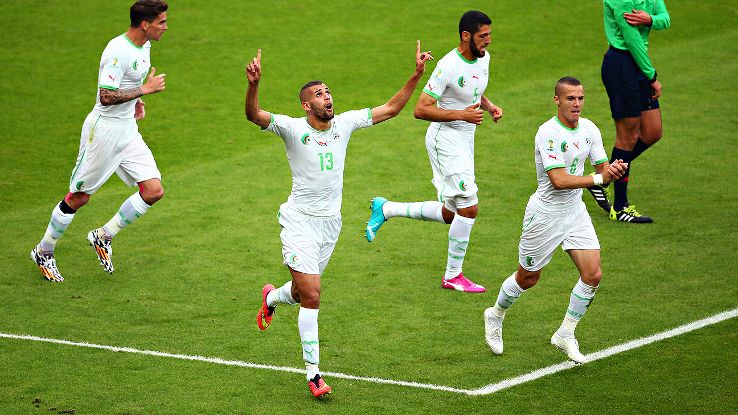 Islam Slimani and Algeria put on a real show vs. South Korea on Sunday.