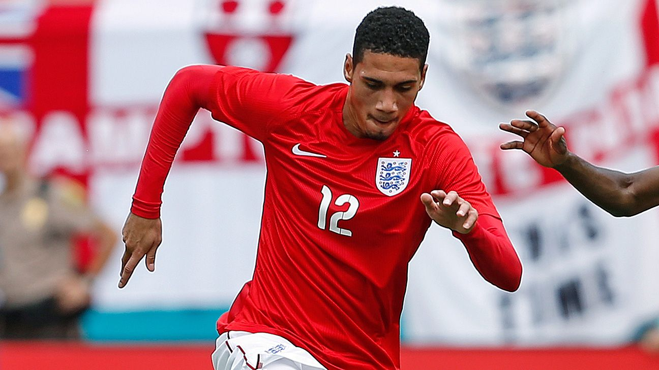 Chris Smalling has yet to play a minute for England at the World Cup.