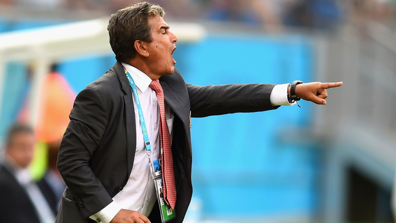 Manager: Jorge Luis Pinto -- Costa Rica