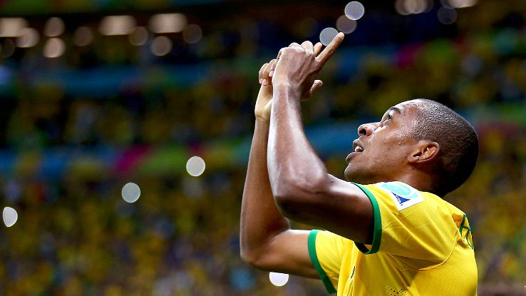 Brazil's attack versus Cameroon sprung to life with the second half introduction of Fernandinho.
