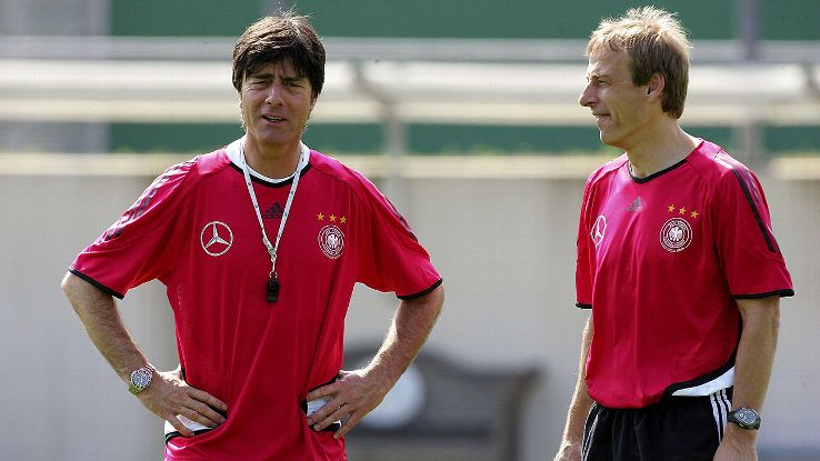 Jurgen Klinsmann was at the heart of the German football revolution in the early 2000s.