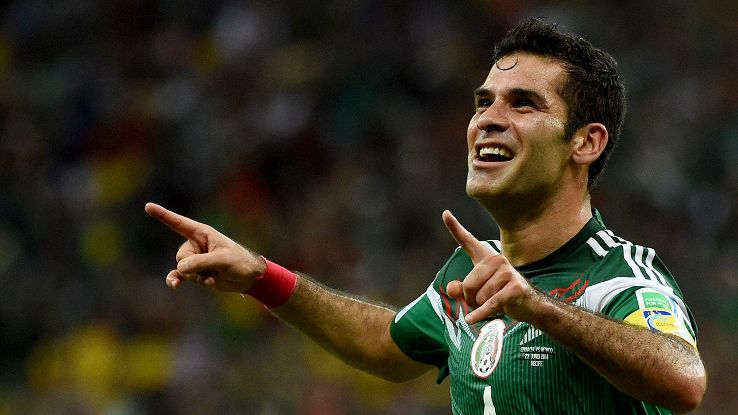Rafael Marquez last played in Europe in 2010 for Barcelona.