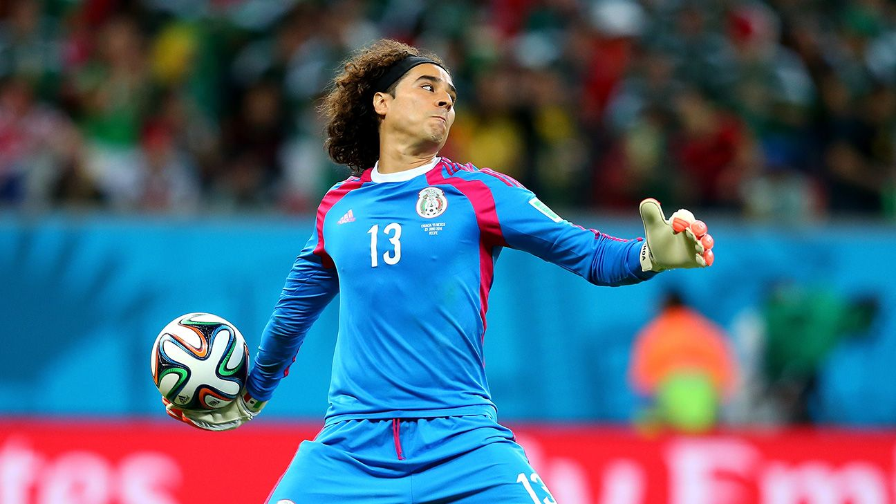 Goalkeeper Guillermo Ochoa has been one of many standouts for Mexico at the World Cup.
