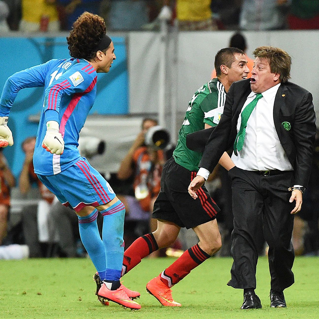 Malaga's decision to sit goalkeeper Guillermo Ochoa is a major nuisance for Mexico boss Miguel Herrera.