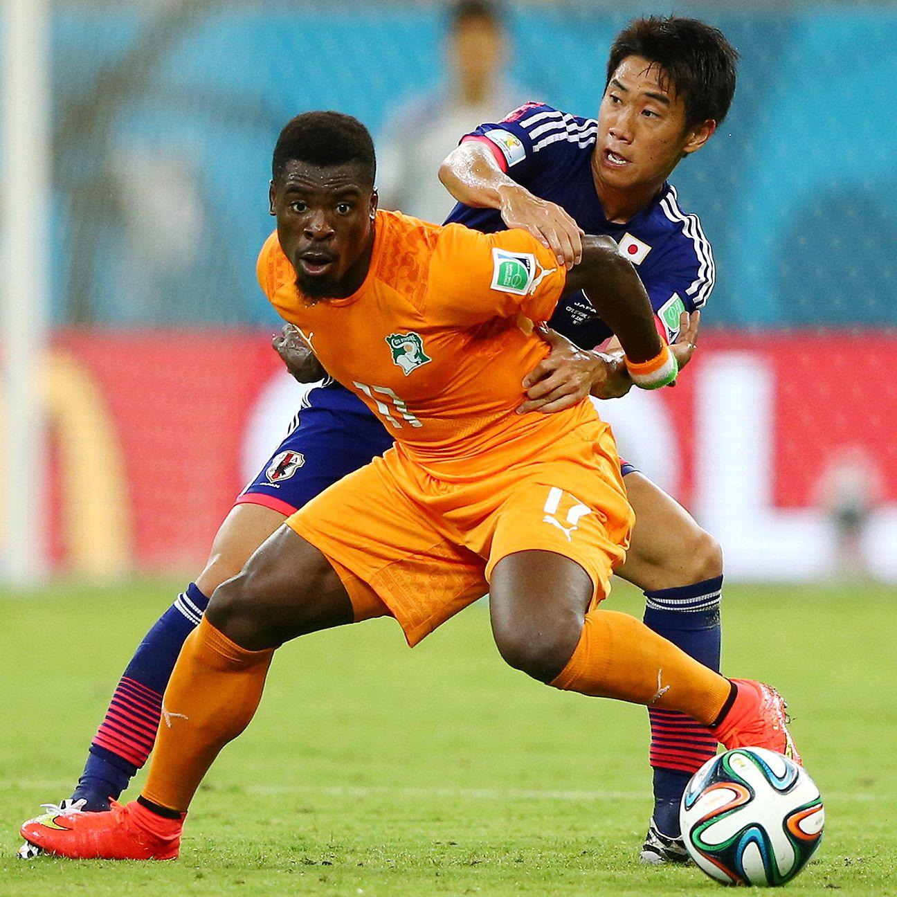 RB. Serge Aurier -- Ivory Coast