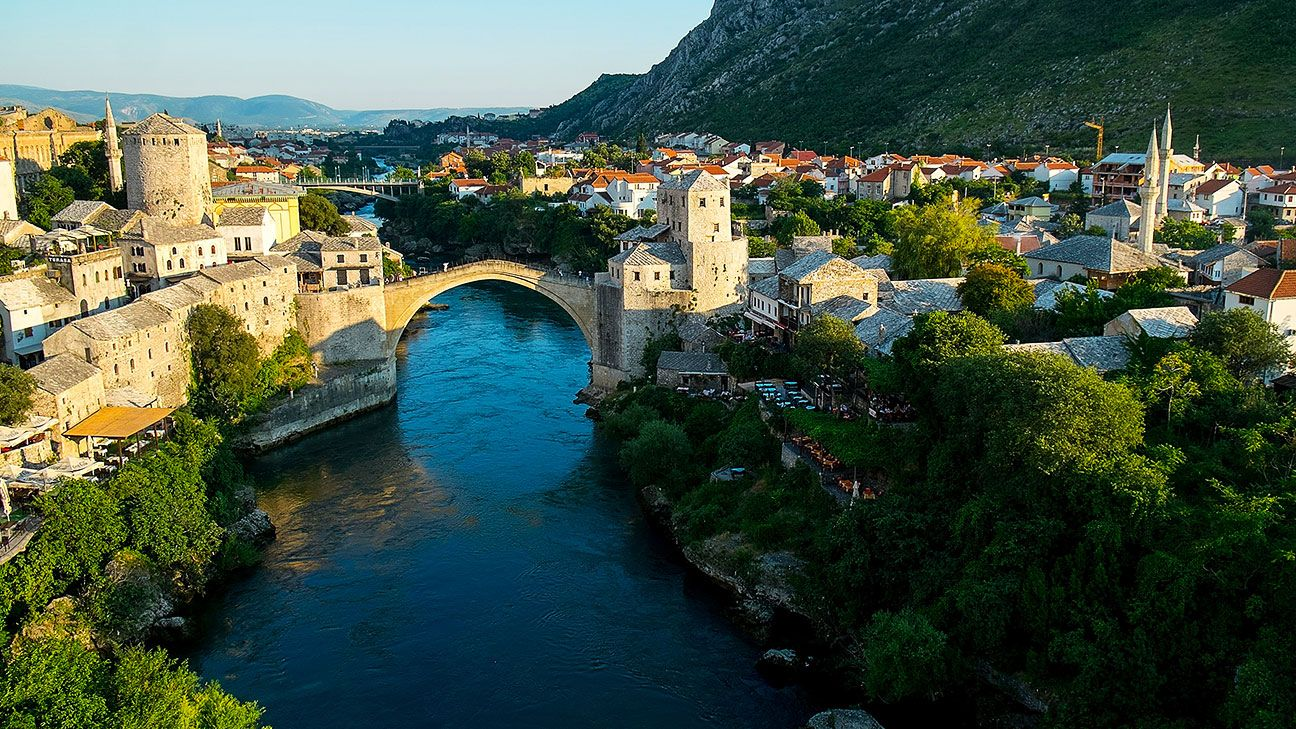 The Siege of Mostar peaked in 1993 during the Croat-Bosniak conflict and lasted 18 months.
