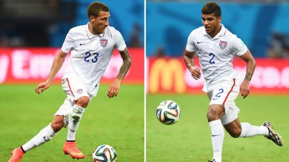 What positions best fit Fabian Johnson and DeAndre Yedlin on the USMNT?