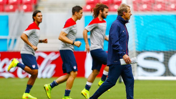 United States head coach Jurgen Klinsmann has his players focused on delivering a result on Thursday versus Germany.