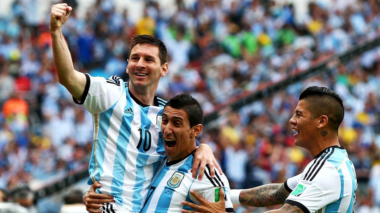 Internasional Piala Dunia Xtra Time  - Cuplikan Gol Argentina vs Swiss, Gol Telat Angel di Maria Selamatkan Argentina