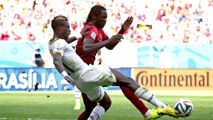 John Boye was hapless vs. Portugal but his Ghana teammates were sadly hapless all tournament long.