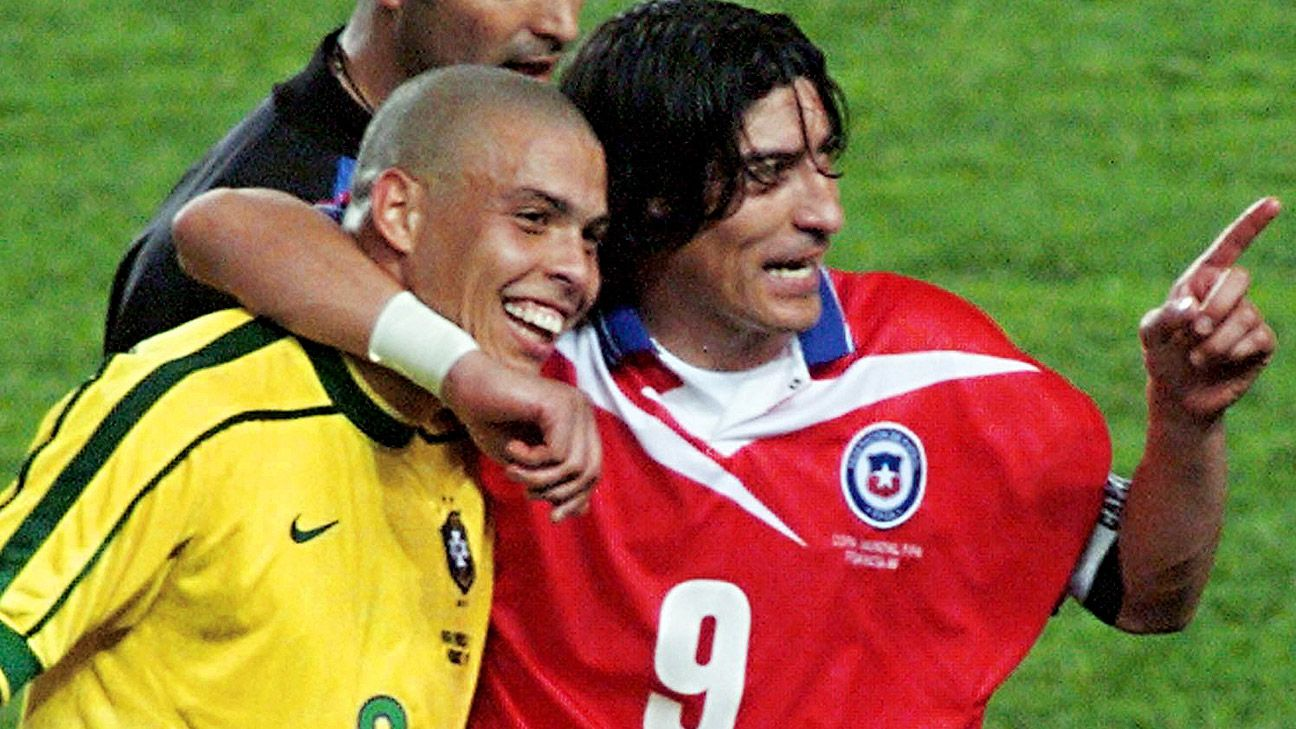 Chile have had good teams before but Ivan Zamorano and Co. were humbled by Brazil in 1998.