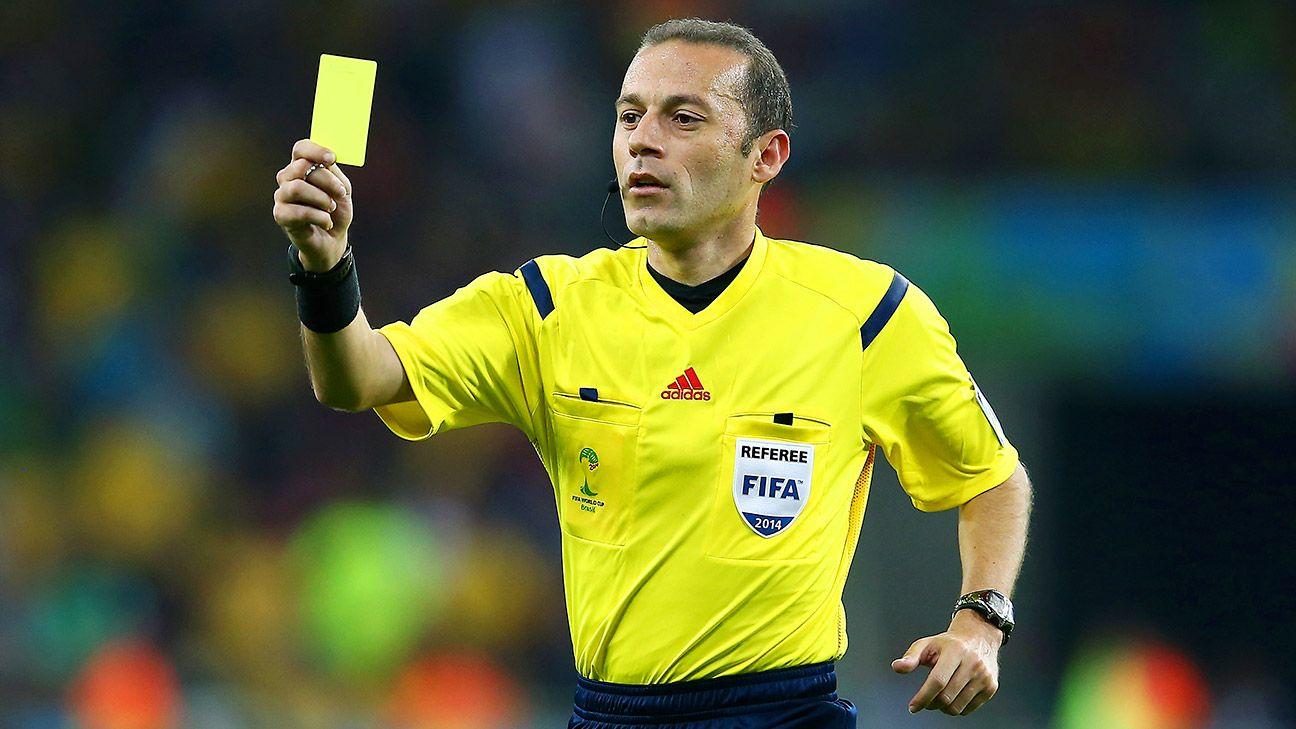 Cuneyt Cakir to referee Champions League final - ESPN FC