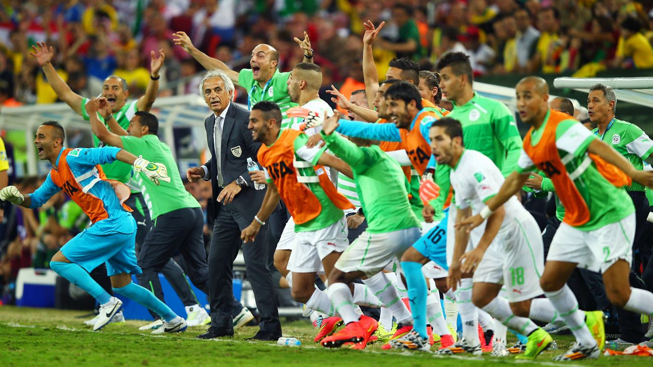 Algeria deserve immense credit for reaching the round of 16 for the first time in their history.
