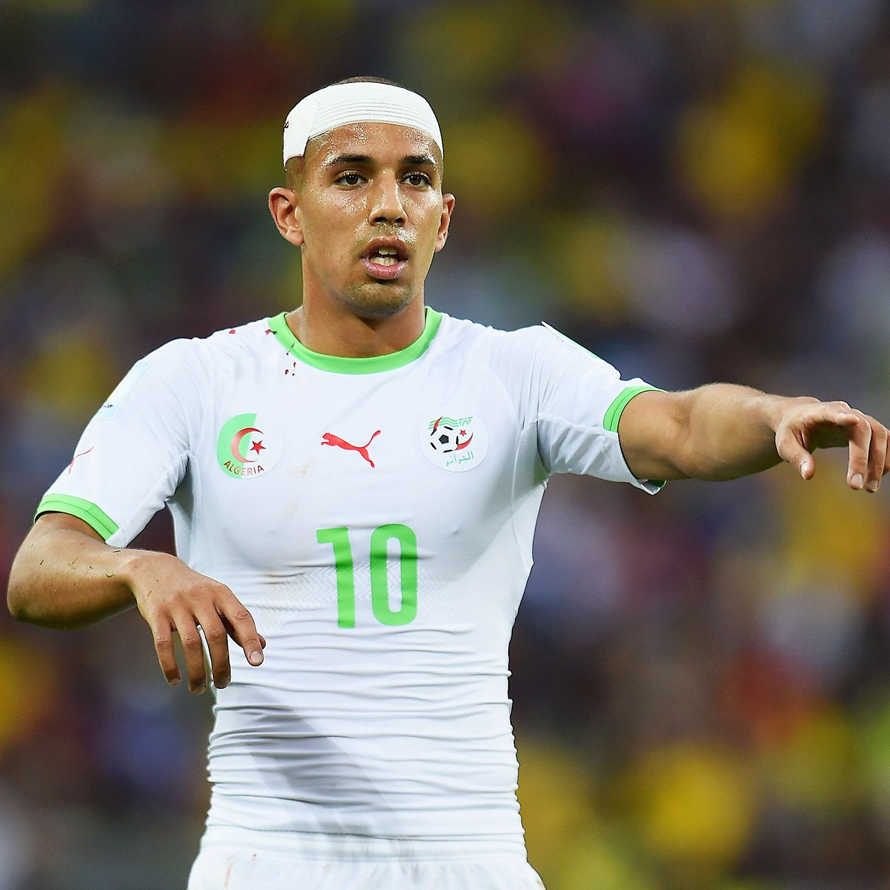 Sofiane Feghouli has helped lead Algeria into the second round of the World Cup for the first time ever.