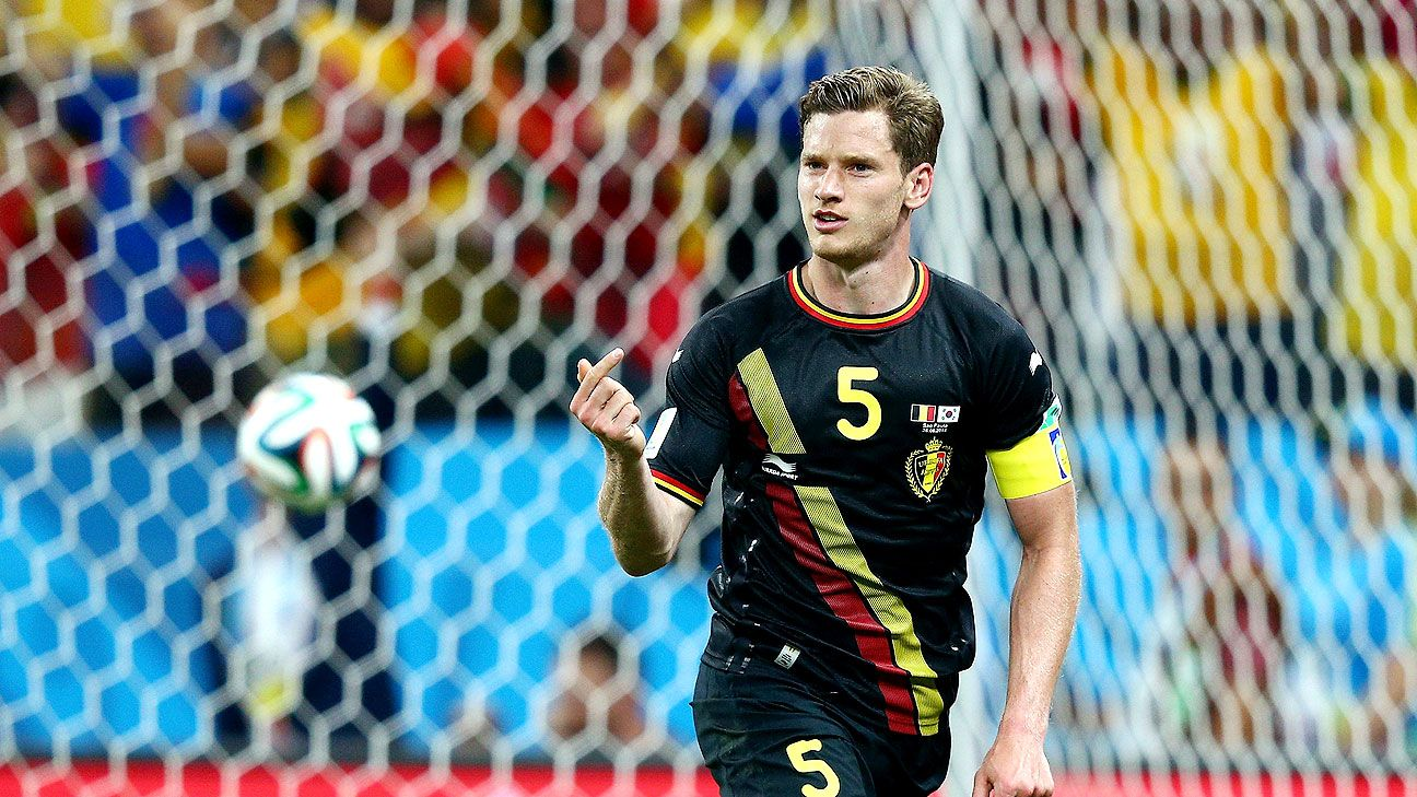Jan Vertonghen and Belgium head into the knockout round with an unblemished record.