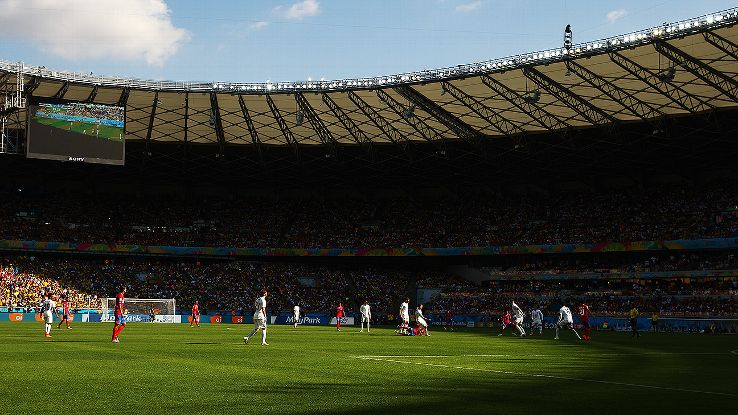 Belo Horizonte's Estadio Mineirao will play host to Saturday's big Brazil-Chile second-round clash.