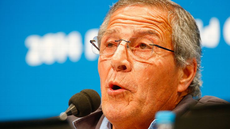 Oscar Tabarez's defiant tone is having its desired effect: rallying and focusing his players for the challenge ahead.