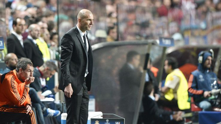Zinedine Zidane served as Carlo Ancelotti's assistant during Real Madrid's Champions League-winning season.