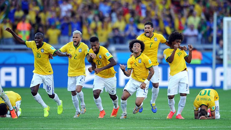 Brazil managed to slip past Chile in penalties to earn a quarterfinal date with Colombia.