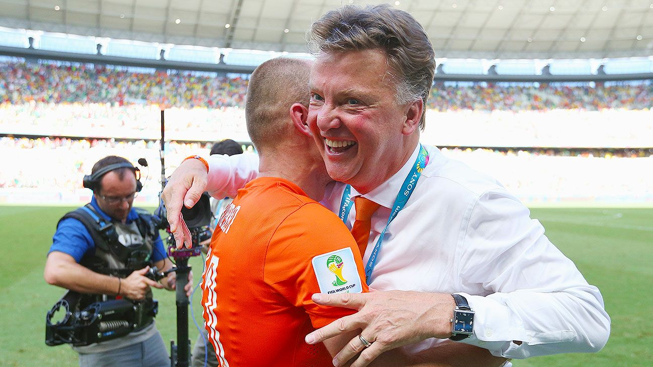 With his team on the ropes vs. Mexico, van Gaal took risks and was handsomely rewarded.