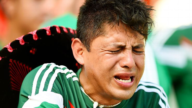 It was the same old story for Mexico fans on Sunday as El Tri failed to advance past the second round for the sixth consecutive World Cup.